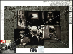 Gordon Parks Collage by Peter Beard